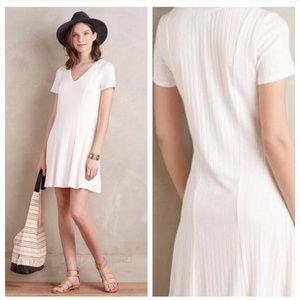 Dolan White Ribbed Dress XS
